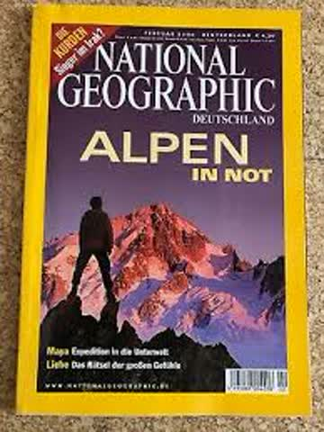 National Geographic – Alpen in Not