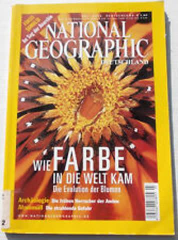 National Geographic – Wie Farbe in die Welt kam