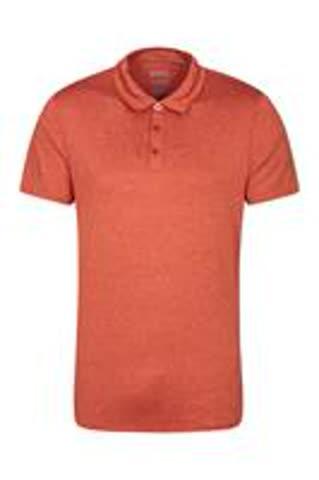 Polo-Shirt orange, Grösse XXXL, mit UV-Schutz