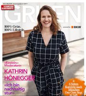 Schweizer Illustrierte #2 GRUEN