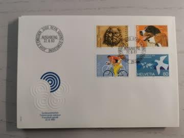 1983 FDC Werbemarken MiNr: 1256-1259