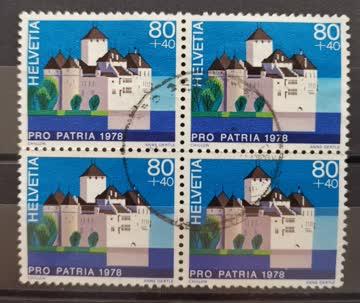 1978 Viererblock Pro Patria
