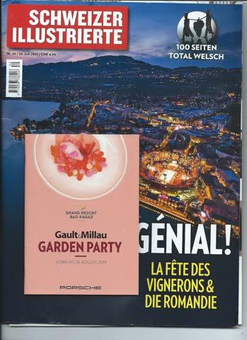 Schweizer Illustrierte Nr. 30 26. Juli 2019