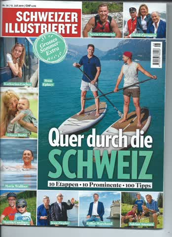 Schweizer Illustrierte Nr. 28... 12. Juli 2019