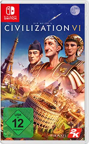 Nintendo GAME Sid Meier's Civilization VI, Switch video Basic+DLC - GAME Sid Meier's Civilization VI, Switch, Switch, TBS (Turn Base Strategy), Multiplayer mode, E10+ (Everyone 10+)