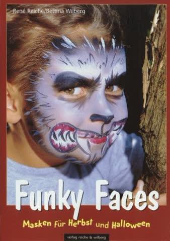 Funky Faces.Masken für Herbst und Halloween