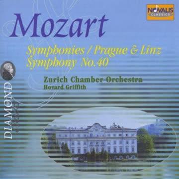 Howard Griffiths - Diamond Classics - Mozart (Sinfonien Nr. 15, 25, 36, 38, 40)