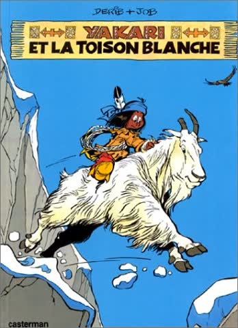 Yakari, Tome 11 : Yakari et la Toison blanche