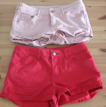 Hotpants-Set Grösse 36