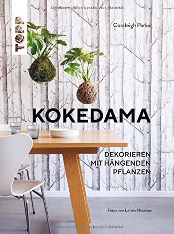Kokedama: Dekorieren mit hängenden Pflanzen