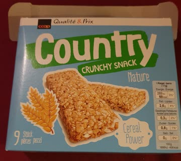 Country Crunchy Snack Nature