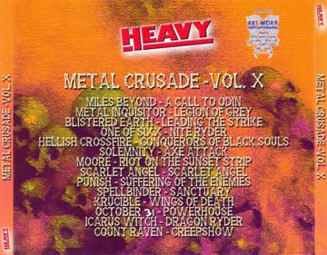 METAL CRUSADE VOL. X - CD