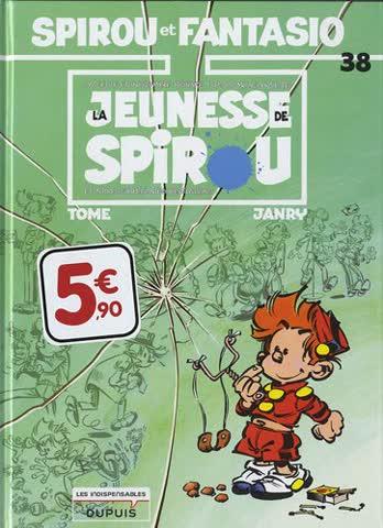 Spirou et Fantasio, Tome 38 : La jeunesse de Spirou