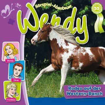 Wendy - Folge 55: Rodeo auf der Western-Ranch [Musikkassette]