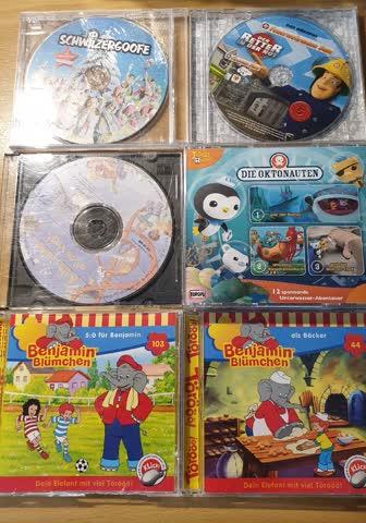 Verschiedene Kinder CD S