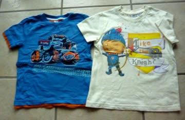 2 T-Shirts für Jungen - Gr. 110