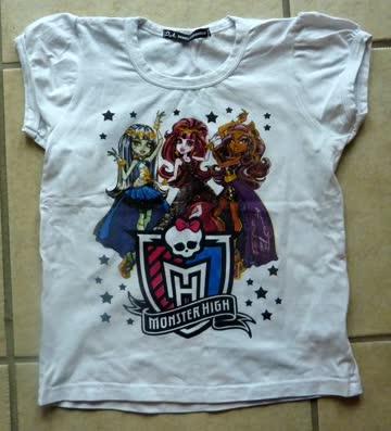 T-Shirts für Mädchen - Gr. 122/ 128