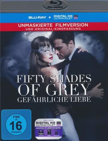 Fifty SHades of Grey 2 - Gefährliche Liebe - Blu-ray Deutsch