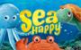 1 Sammelkarte mit 40 Sammelmarken - Sea Happy