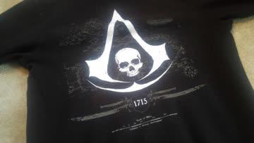 1x Assassins Creed Black Flag Hoodie Ubisoft