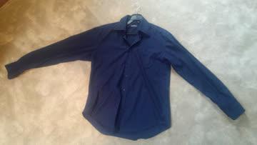 1x Blaues Hemd / Herren / Langarm / gebraucht