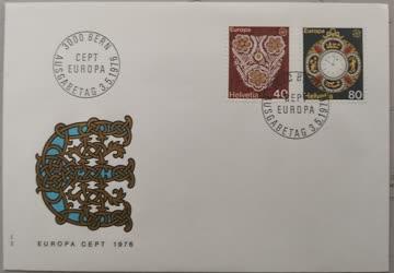 1976 FDC Helvetia