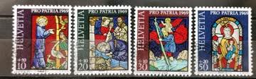1969 Pro Patria Satz ET - Stempel