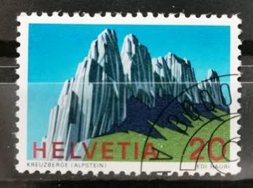 1969 Helvetia ET - Stempel
