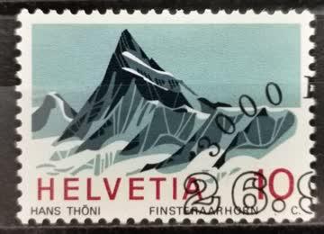 1966 Helvetia ET-Stempel