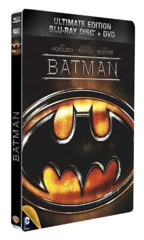 Batman - Combo Blu-Ray + DVD - Steelbook format Blu-Ray - Collection DC COMICS [Blu-ray]