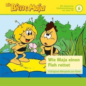 Die Biene Maja, Folge 6: wie Maja einen Frosch rettet