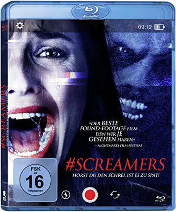 #SCREAMERS - Hörst du den Schrei, ist es zu spät [Blu-ray]