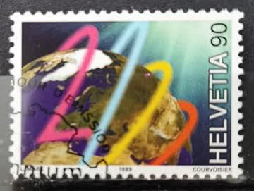 1999 Helvetia ET - Stempel