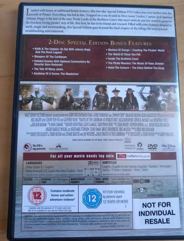 Pirates of the Caribbean: 3 DVD collection Code 2 / ENGLISCH