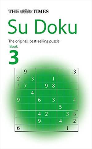 The Times Su Doku Book 3: 100 original puzzles: Bk. 3