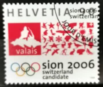 1998 Helvetia ET-Stempel