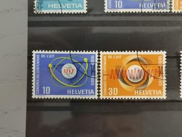 1965 Helvetia ET-Stempel