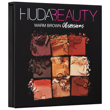 Huda Beauty Obsessions Eye Palette Warm Brown
