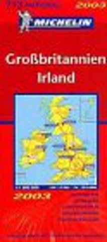 Michelin 2001 Great Britain and Ireland (Michelin Country Maps)