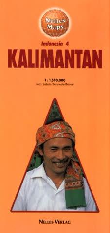 Indonesia Map: Kalimantan Sheet 4 (Nelles Map)