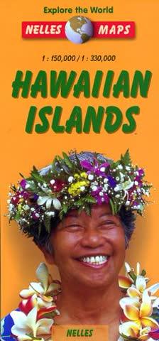 Hawaiian Islands Map (Nelles Map)