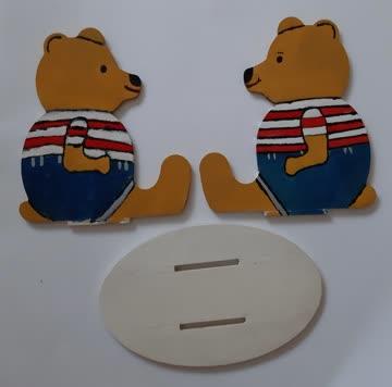 Briefhalter Teddybär