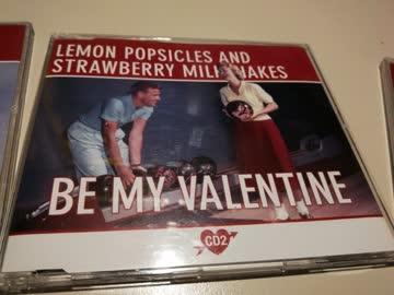 Be My Valentine - Lemon Popsicles and Strawberry Milkshakes