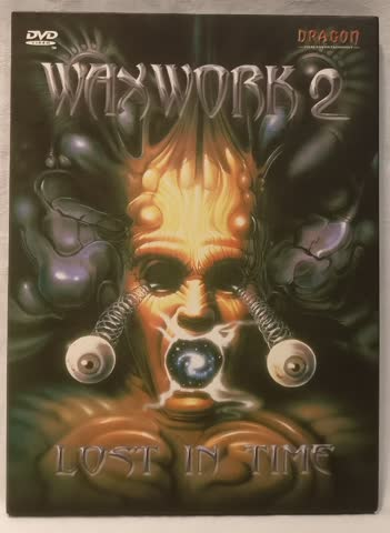 WAXWORK 2 Limited Special Edition Digipak UNCUT Dragon