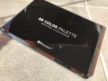 88 Color Palette Lidschatten von bh cosmetics