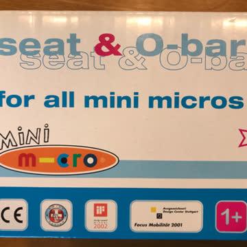 seat & o-bar für mini micros