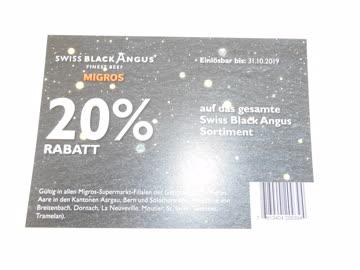 Swiss Black Angus Gutschein