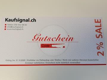 2% Gutschein für Haushaltsgeräte bei Kaufsignal.ch