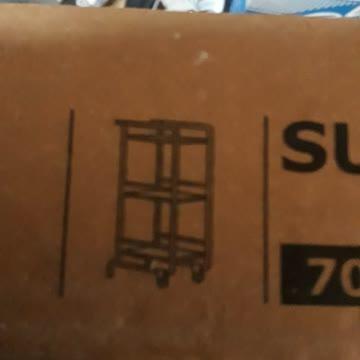 Servierwagen weiss IKEA