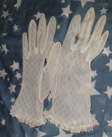 Antike Handschuhe portofrei